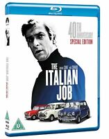 The Italian Job (1969) Blu ray [Region B] Michael Caine, Action Crime Movie NEW