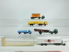 BD362-0,5# 5x Wiking H0/1:87 Modell: Opel+Mercedes/MB+Harvester+US-Truck Sealand