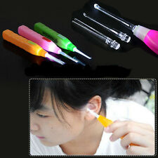 LED Flashlight Light Ear Pick Wax Remover Cleaner Curette Digging With Battery