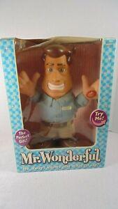 2003 Mr. Wonderful Talking Doll 16 Different Phrases. New damaged box. Works.