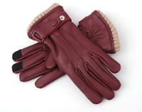 Women's Premium Quality Genuine Lambskin Leather Winter Warm Dress Driving Glove