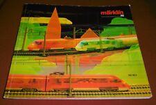 spielzeug modell  eisenbahn zubehör katalog alt prospekt märklin H0  1987 / 88 D