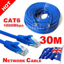 Premium 30M RJ45 CAT6e CAT6 Ethernet LAN Network Cable 100M/1000Mbps Eway