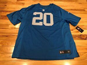 BARRY SANDERS Detroit Lions Nike ON-FIELD Jersey 3XL NWT ($100)