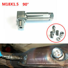 90° Degree O² Oxygen Sensor Extender Spacer Extension Catalytic Adapter M18X1.5