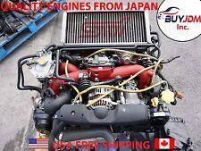2004 JDM SUBARU WRX STI EJ207 ENGINE ECU , STI VERSION 8 ENGINE 2.0L AVCS V-8