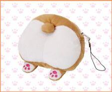 1pc Cute Plush  Coin Purse Corgi Butt Ass Pattern Wallet Puppy Change Purse