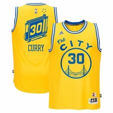 adidas Golden State Warriors Hardwood Classic Stephen Curry Swingman Jersey  M f069f8eab