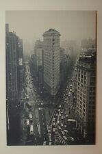 New York City Vintage Historic Canvas Print 40 x 60 cm