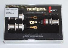 WBT 0710 Cu mC nextgen 4Stück. Polklemme  neue Ausführung in OVP