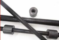 T10x2 - T20x4 Left and Right Tooth Trapezoidal Lead Screw Rod Long 200-600mm cut