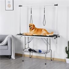 New listing Pet Grooming Table Steel Arm Frame Height Adjustable For Dogs/Pet Beauty Used