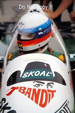 Manfred Winkelhock Skoal Bandit RAM 03 Portugal Grand Prix 1985 Photograph