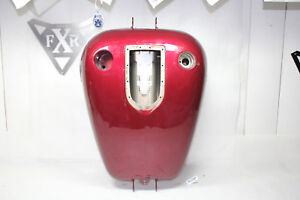 Dyna Super Glide gas tank Harley FXD fuel Red tribal flames FXDL FXDWG EPS21989