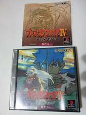BREATH OF FIRE IV SONY PLAYSTATION GAME VIDEOGAMES PS JAP JAPANESE PSX PS1 F