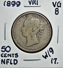 1899 W9 Newfoundland 50 cents