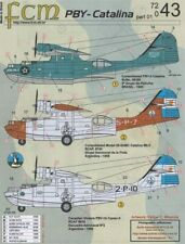 NEW FCM Decals 72043 1:72 Consolidated PBY Catalina - Brasil & Argentina