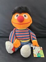 Sesame Street Ernie Plush Soft Toy With Tags