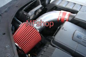 RED For 2005-2007 Volkswagen Golf GTi 2.0L L4 Turbo Air Intake Kit + Filter