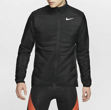 Nike Men's AeroLayer Black Running Jacket (BV4874-010) Size L - NWT