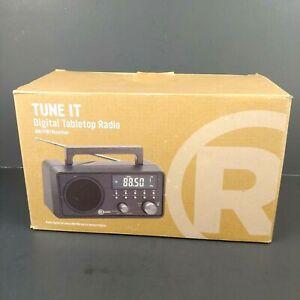 New RadioShack Digital AM/FM Weather Tabletop Radio 1201178