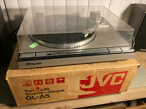JVC QL A5 Vintage Stereo Turntable  With Original Box