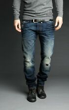 Diesel Shioner 74Y Men's Slim Fit Denim Jeans Size 27 x 32 Made in Italy 0074Y