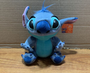 "Disney Baby Stitch as Blue Dog Plush Bean Bag Beanie Stuffed Toy 8"""