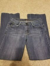 Foster jeans womens size 10 medium wash flare weekend casual school.   A032
