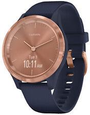 Garmin Vivomove 3S Smart Watch with Silicone Band Navy / Rosé Gold 010-02238-03