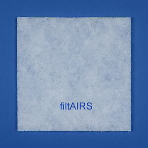 5 Filter Ersatzfilter Staubfilter für Lunos Lüfter Saphir 2/FSA 034 185
