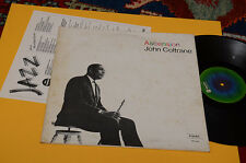 JOHN COLTRANE LP ASCENSION ORIG ITALY 1976 EX GATEFOLD COVER+INSERTO
