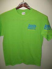 Austin Music Supply Company Co. Sixth 6th Street Texas USA Neon Green T Shirt M