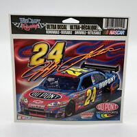 Wincraft Racing NASCAR #24 JEFF GORDON Ultra Decal NEW ReusablableH