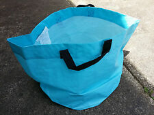 IKEA SOLIG LARGE PLANT CONTAINER BAG 40CM HEIGHT DIAMETER BLUE