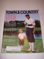 TOWN & COUNTRY Magazine, JUNE 1992, PAYNE STEWART Cover, BENNO SCHMIDT - YALE!