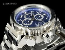 NEW Invicta 52mm I Force Quartz Chronograph BLUE DIAL Two Tone SS Bracelet Watch