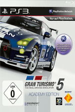 Gran Turismo 5 Academy Edition [video game]
