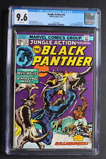 JUNGLE ACTION 12 BLACK PANTHER'S RAGE Cadaver 1974 KILLMONGER 1st SOMBRE CGC 9.6