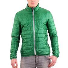 Cappotti e giacche da uomo verdi marca Napapijri cerniera