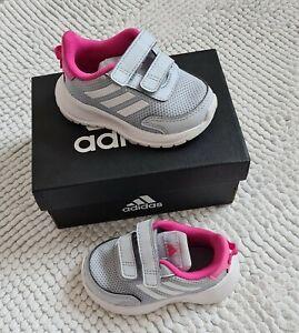 Adidas ☆ baby Mädchen ☆ Sneaker☆ Sportschuh ☆ Halbschuhe ☆Gr.20 ☆ blau/rosa ☆top