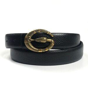 New 2021 Fashion G Style Gold Snake buckle Genuine Leather belt Men Women's Belt