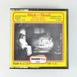 Dick und Doof mit dem Kopf durch die Wand - Revue Super 8 - 33m - SW - 8657 - #2