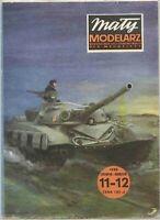 PAPER-CARD MODEL KIT-MALY MODELARZ- Tank T-72