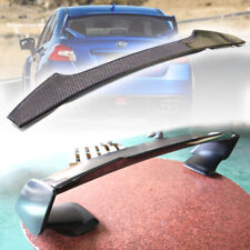 Carbon FOR Subaru WRX STI Saloon Gurney Flap Rear STI Trunk Spoiler 15-18
