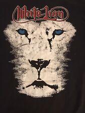 White Lion Vtg Tour Shirt Motley Crue Ratt Poison Halen Dokken Cinderella Jovi