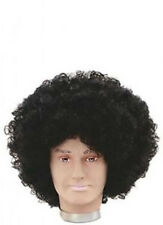 Afro Jumbo Pop Disco Parrucca Nero 1970s Costume Parrucche Capelli Addio al Celibato