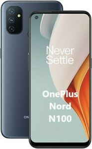 "Smartphone ONEPLUS NORD N100 64GB+4GB RAM Dual Sim 6,52"" MIDNIGHT FROST ONE PLUS"