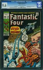 Fantastic Four 114 CGC 9.6 -- 1971 -- 1st full app The OverMind #1034941012