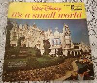 It's A Small World LP 3925 Disneyland 1964 Vinyl Record Book Songs Walt Disney